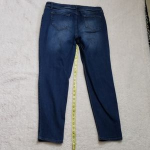 1822 Denim Skinny Jean's Women's size 14